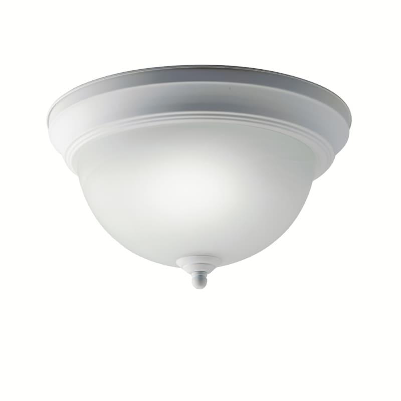 Kichler 10835 Senna 1 Light Flush Mount Indoor Ceiling Fixture White