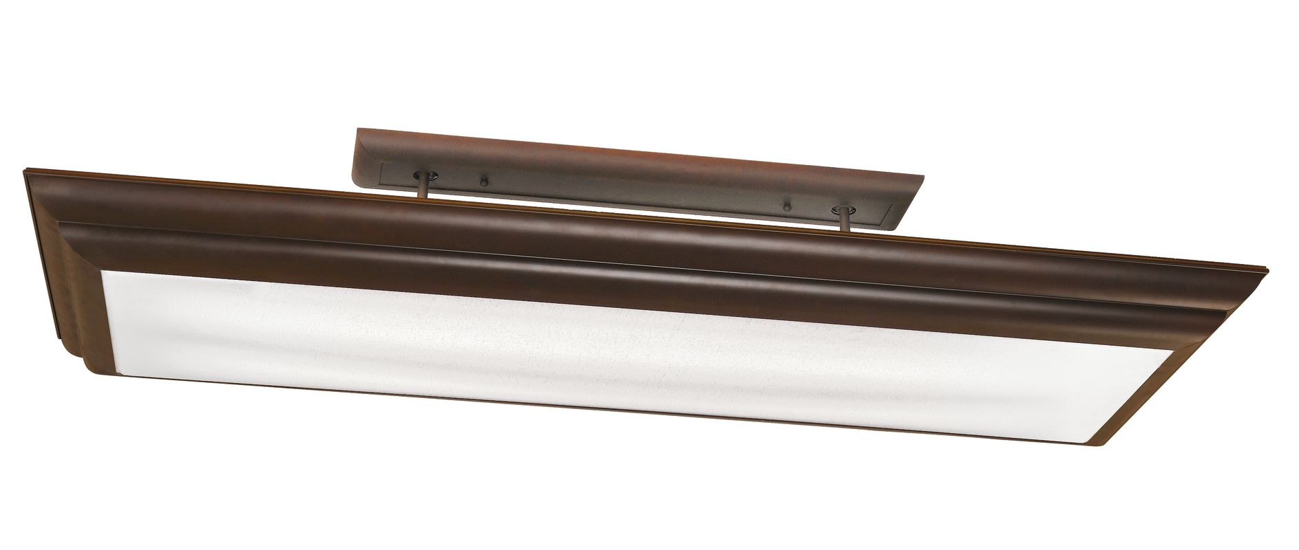 Kichler 10847 4 Light Fluorescent Linear Ceiling Fixture from the Sale $470.00 ITEM: bci1738871 ID#:10847OZ UPC: 783927342940 :