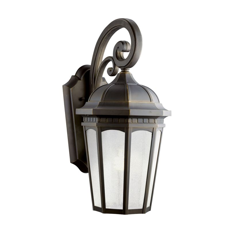 "Kichler 11012 Courtyard 1 Light 22"" Energy Efficient Fluorescent"