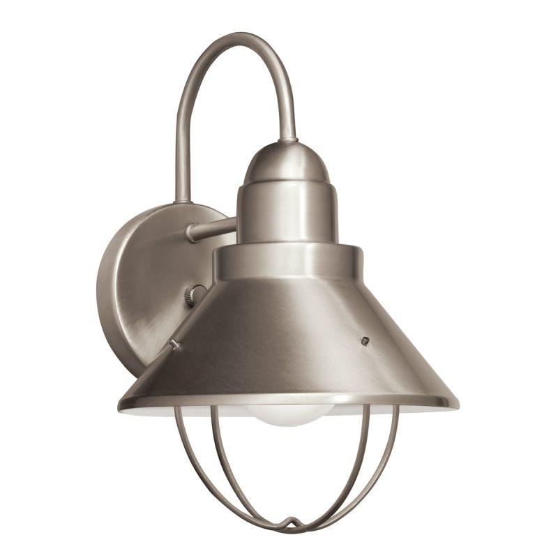 "Kichler 11098 Seaside 1 Light 12"" Energy Efficient Fluorescent Outdoor"