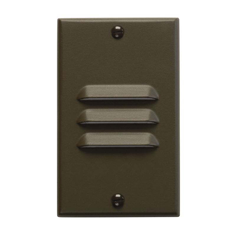 "Kichler 12606 Step and Hall 4.5"" x 2.75"" Vertical Louver Indoor Step"