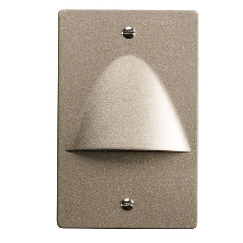 Kichler 12667 Step and Hall 120v 4 Light Indoor Step Light Brushed