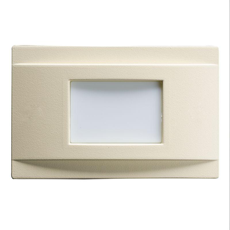 Kichler 12675 Step and Hall 5.52 Watt LED Indoor Step Light Almond