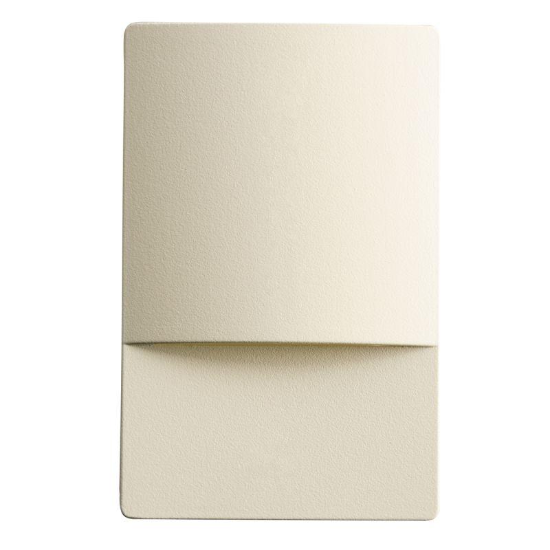 Kichler 12676 Step and Hall 5.36 Watt LED Indoor Step Light Almond