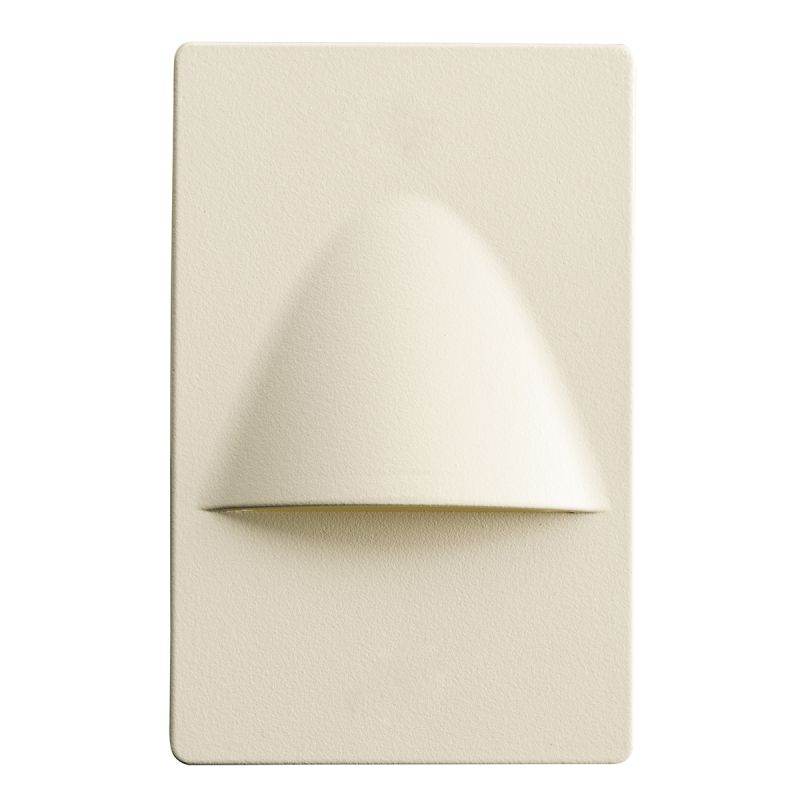 Kichler 12677 Step and Hall 5.16 Watt LED Indoor Step Light Almond