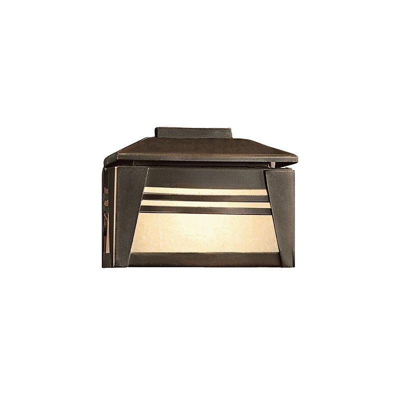 "Kichler 15110 Zen Garden 3"" Xenon Mini Deck Light Olde Bronze Outdoor"