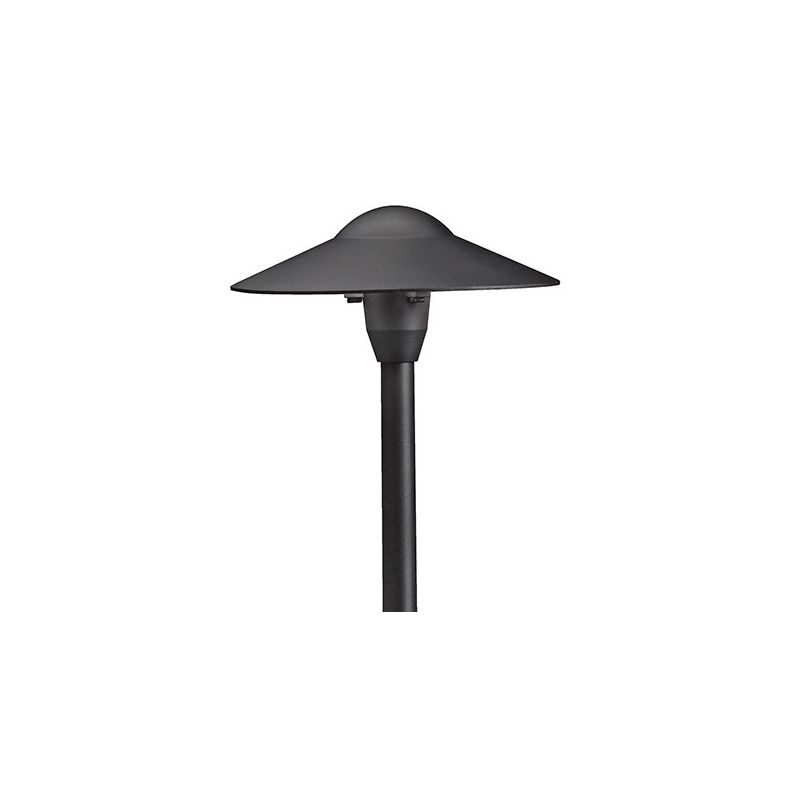 "Kichler 15310 Dome 21"" Xenon Path and Spread Light Textured Black"