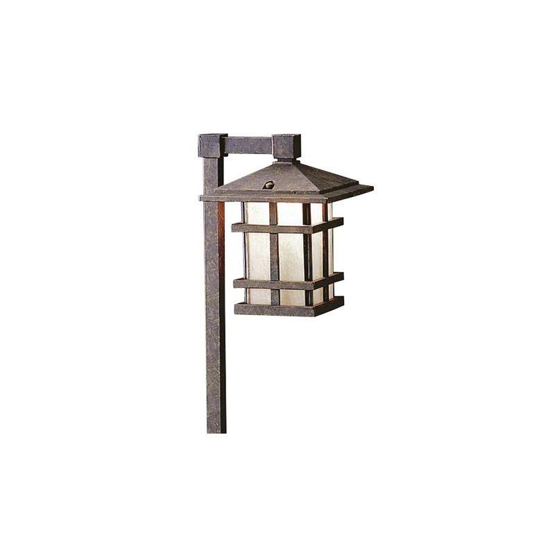 "Kichler 15322 Cross Creek 27"" Xenon Path Lantern Aged Bronze Outdoor"