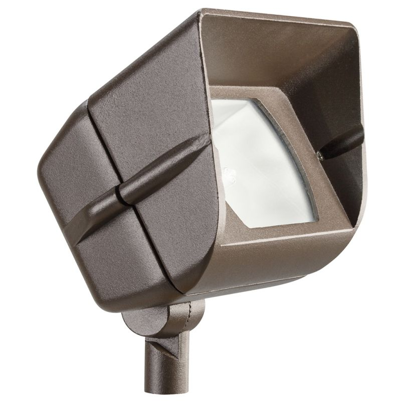"Kichler 15385 6"" Rectangle Halogen Wide Flood Accent Light Textured"