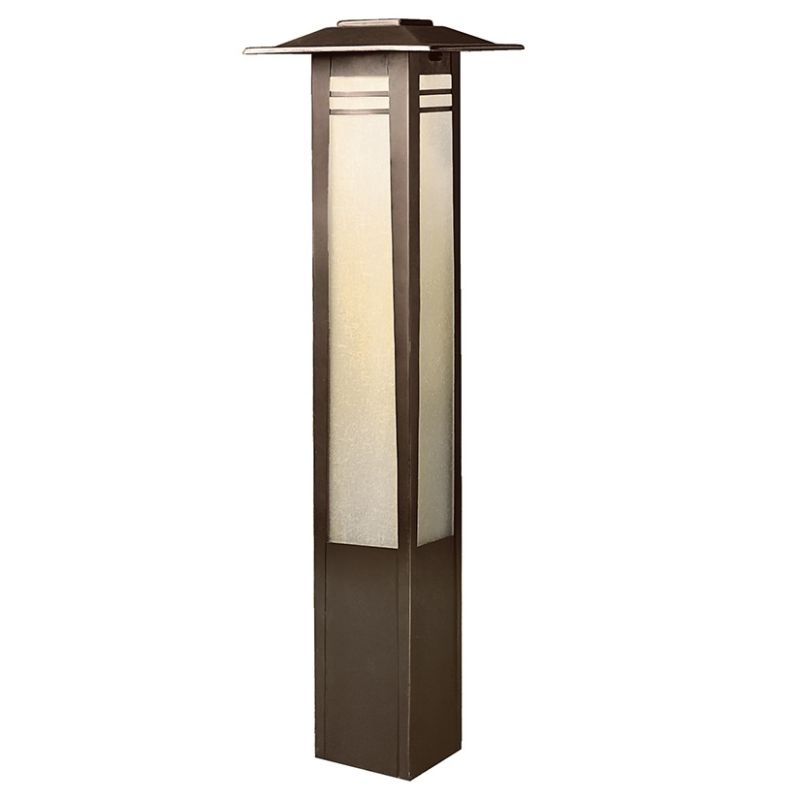 "Kichler 15392 Zen Garden 26"" Xenon Bollard Light Olde Bronze Outdoor"