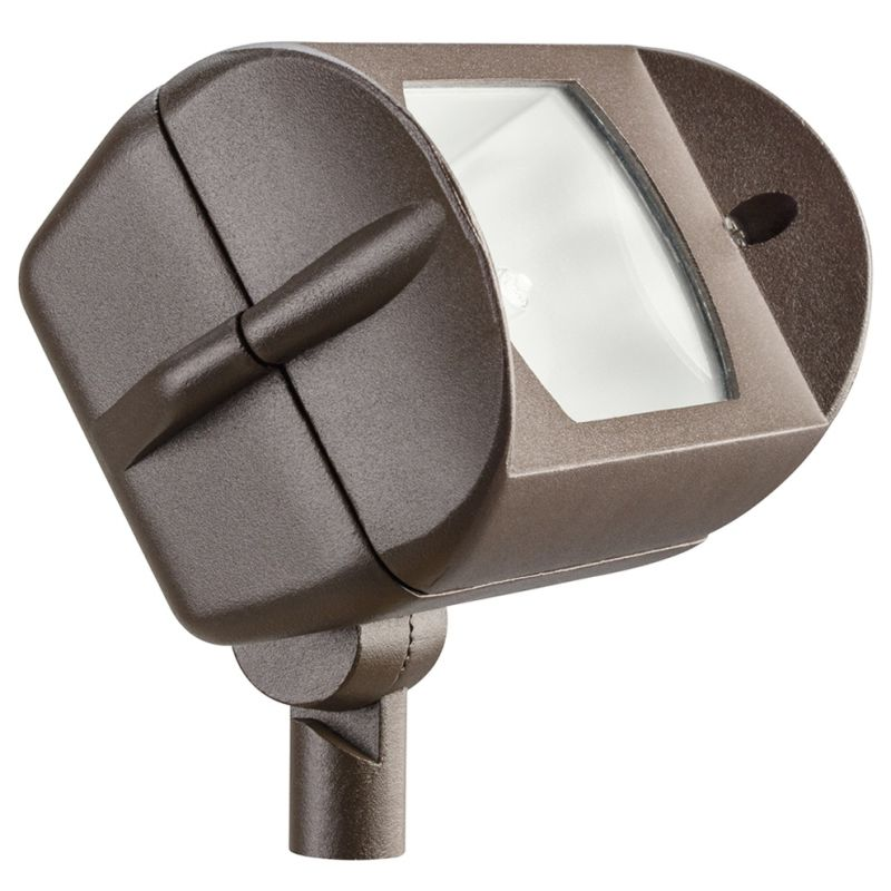 "Kichler 15395 7"" Rectangle Halogen Wide Flood Accent Light Textured"