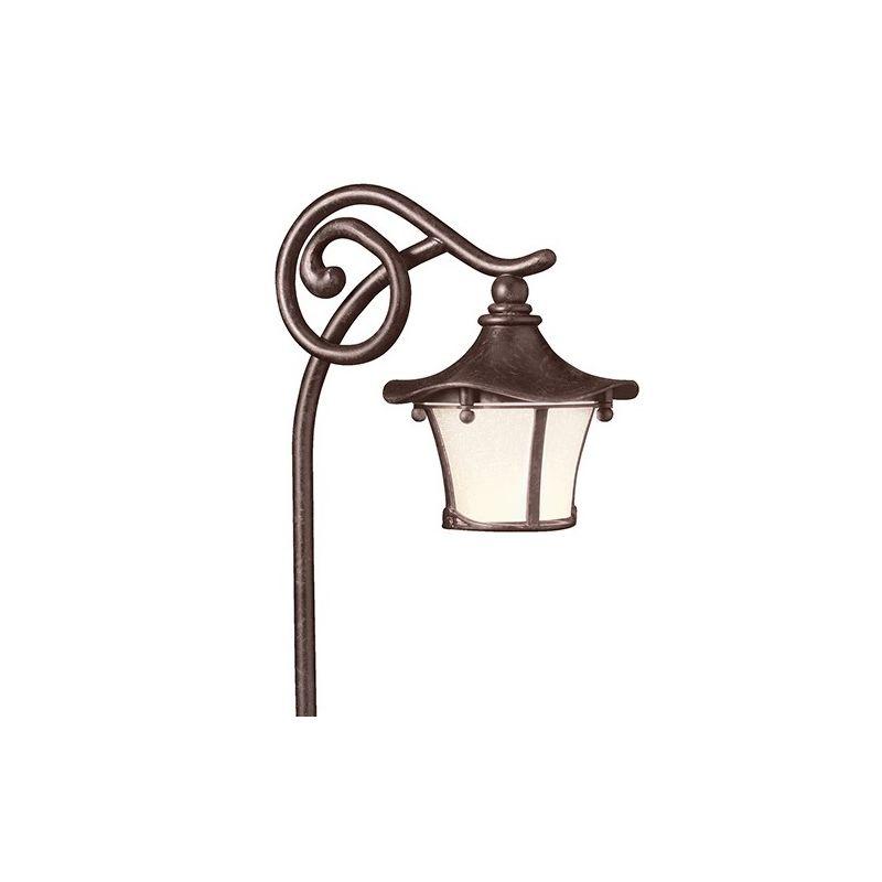 "Kichler 15420 Cotswold 25"" Xenon Path Lantern Aged Bronze Outdoor"