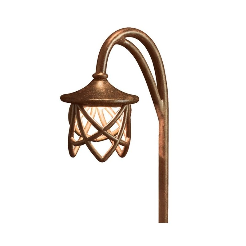 "Kichler 15429 Cathedral 27"" Xenon Path Lantern Textured Tannery Bronze"
