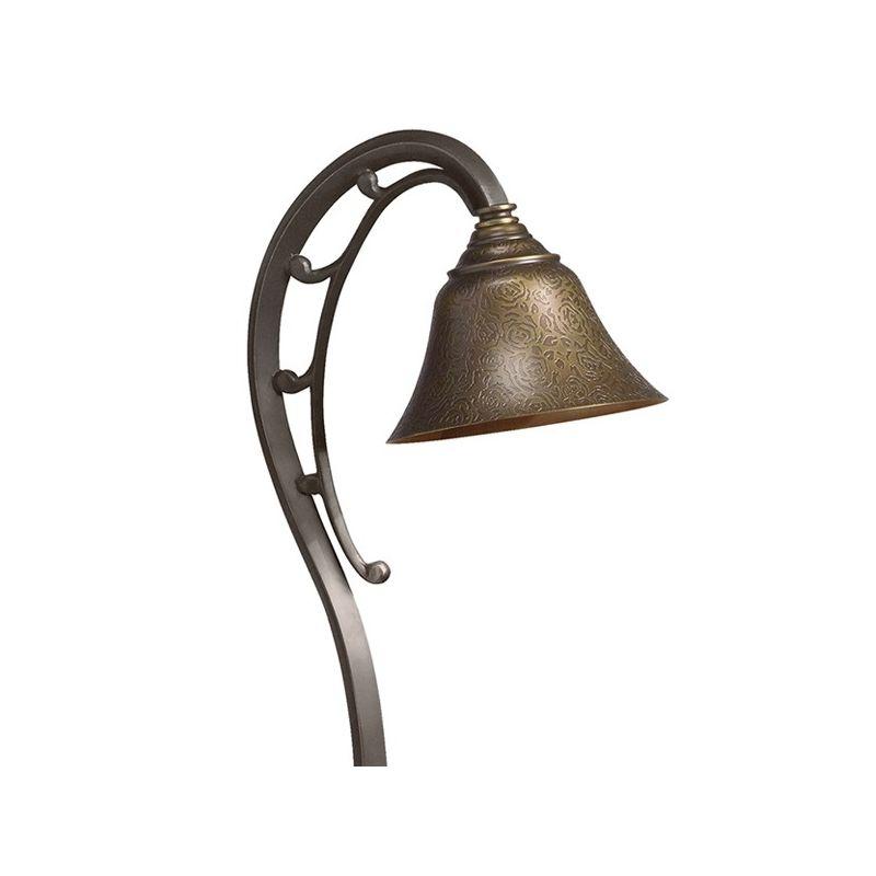 "Kichler 15436 Intaglio 27"" Xenon Path Lantern Olde Bronze Outdoor"
