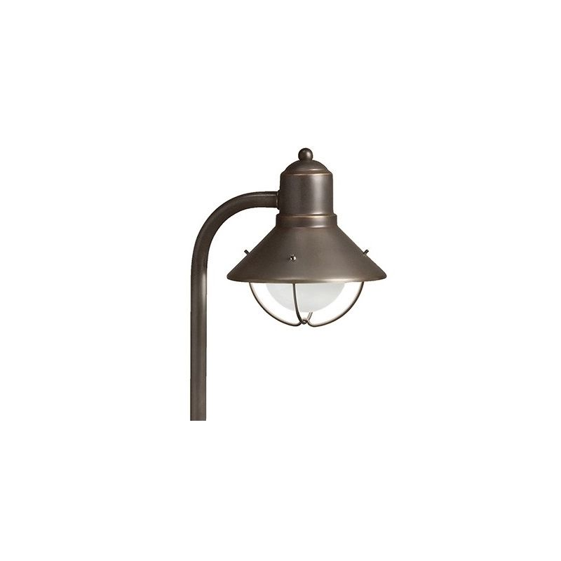 "Kichler 15438 Seaside 26"" Xenon Path Lantern Olde Bronze Outdoor"