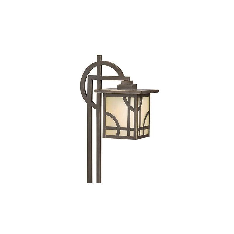 "Kichler 15444 Larkin Estates 27"" Xenon Path Lantern Olde Bronze"