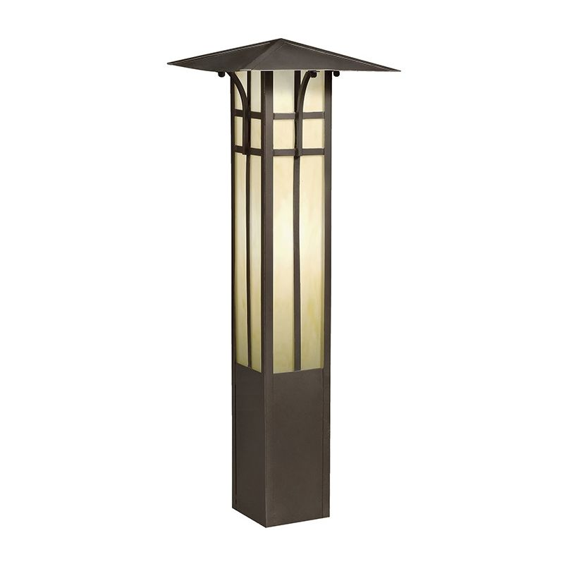 "Kichler 15458 Mission 26"" Xenon Bollard Light Olde Bronze Outdoor"