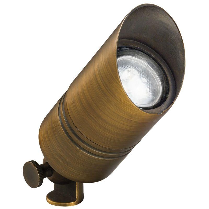 "Kichler 15475 2"" Solid Brass Mini Accent Light for 35W MR16 Lamps"
