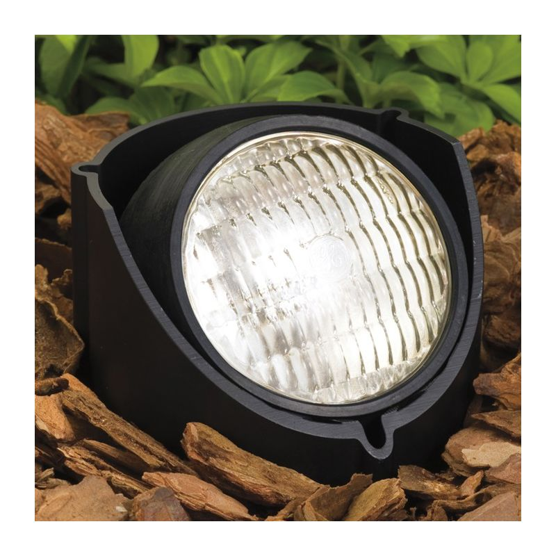 Kichler 15488 In-Ground Well Light for PAR36 Lamps Black Outdoor