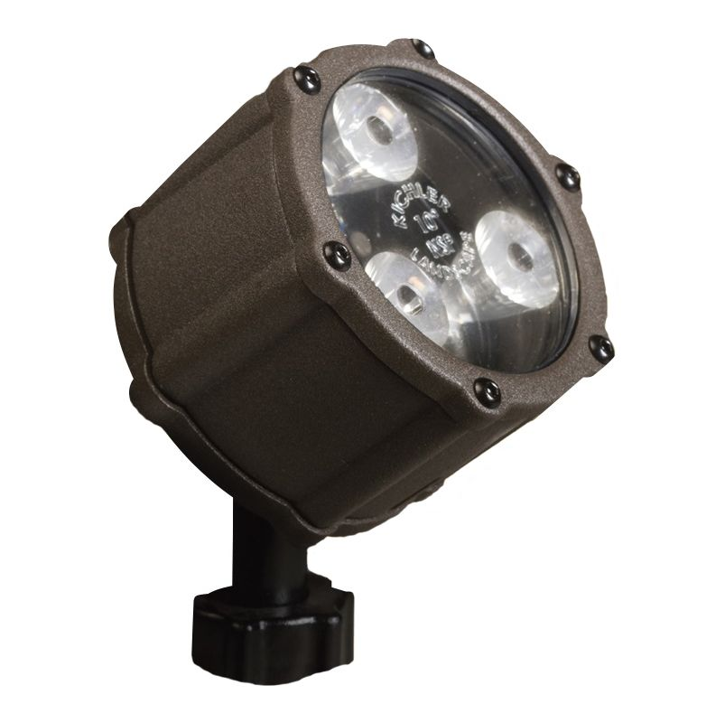 Kichler 15733 4.5W LED Accent Light - 3000K - 60 Degree Wide Flood Sale $132.00 ITEM: bci962985 ID#:15733AZT UPC: 783927286527 :