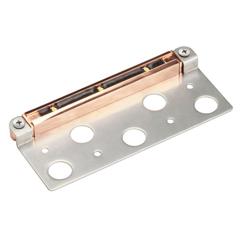 """Kichler 15745-27 7"""" LED Hardscape Light with Mounting Bracket - 2700K"""