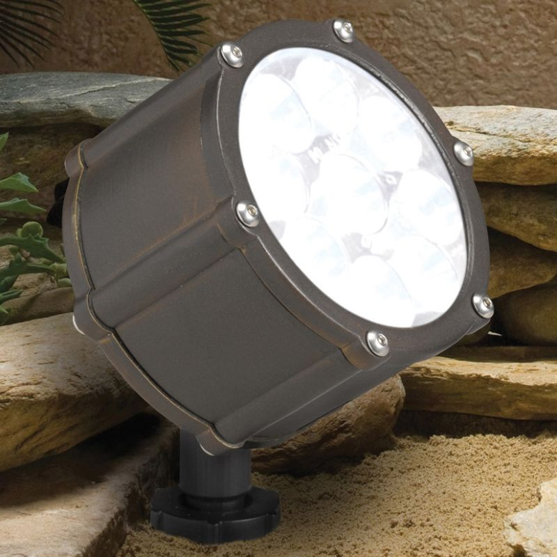 Kichler 15751 12.4W LED Accent Light - 3000K - 10 Degree Narrow Beam Sale $244.00 ITEM: bci842331 ID#:15751BBR UPC: 783927263535 :