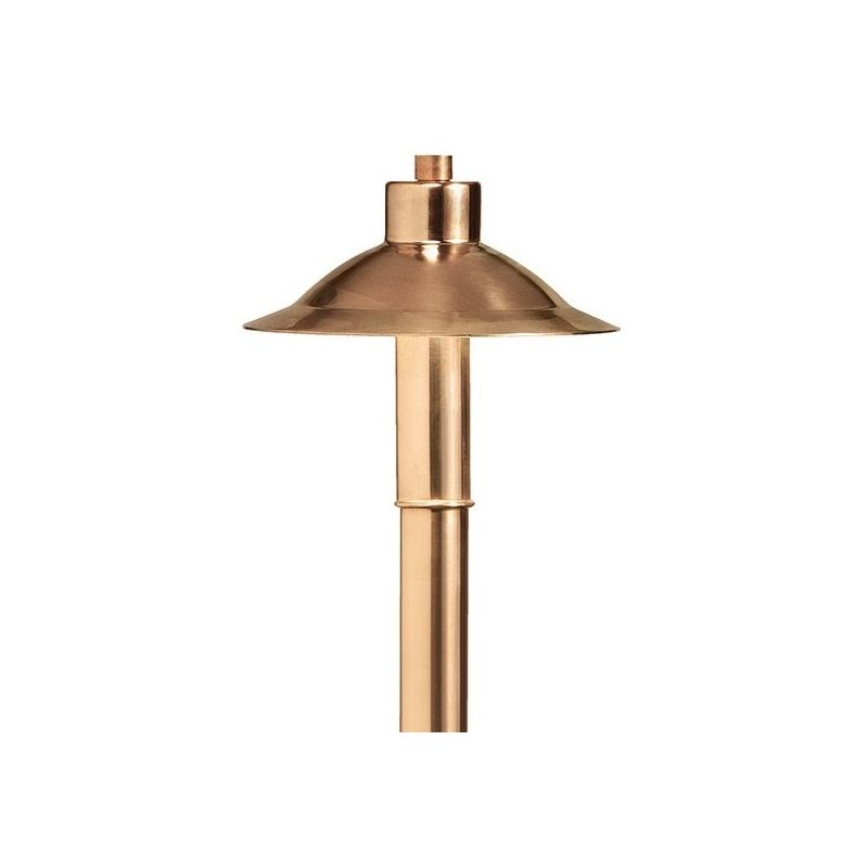 "Kichler 15850-27 High Hat 21"" LED Path and Spread Light - 2700K Copper"