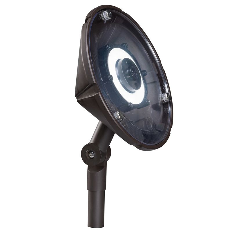 "Kichler 15861-30 6"" Round LED Wall Wash Accent Light - 3000K - 110"