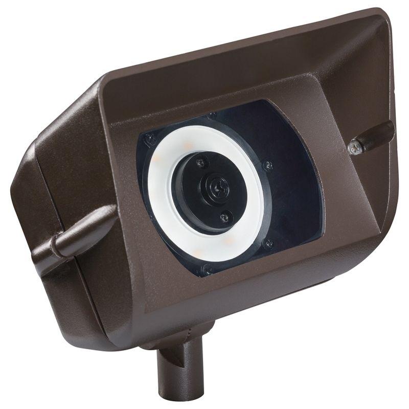"Kichler 16070-30 6"" Rectangle LED Wall Wash Accent Light - 3000K - 90"