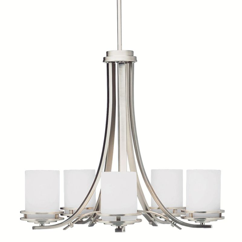 "Kichler 1672 Hendrik 5 Light 25"" Wide Single Tier Chandelier with"