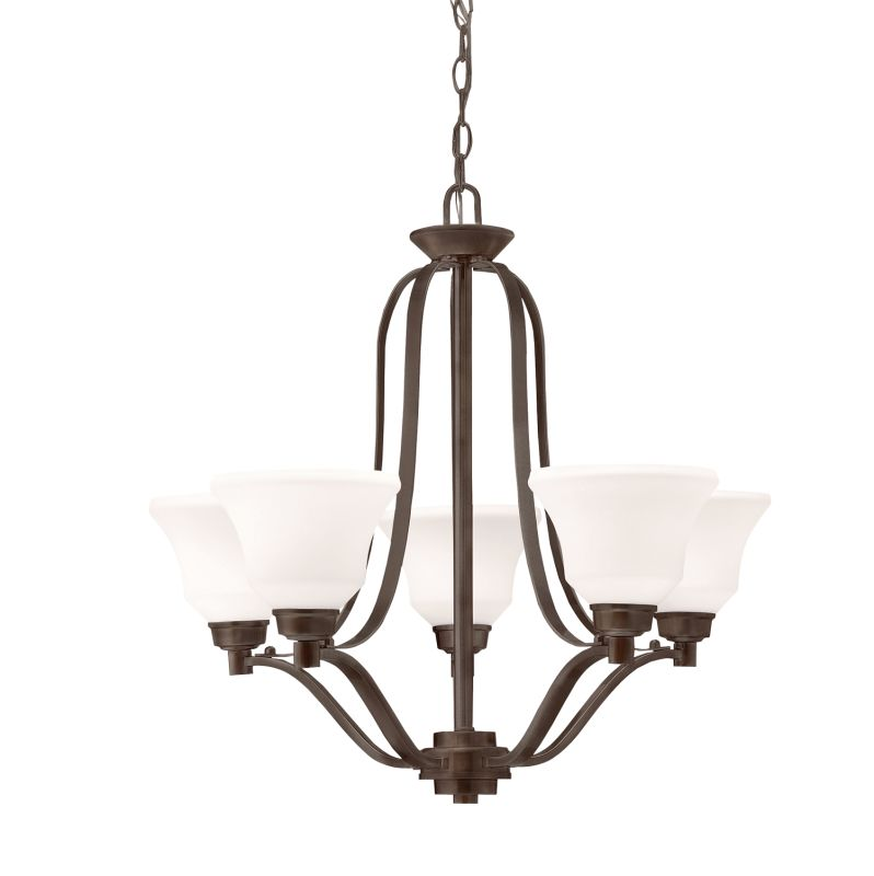 Kichler 1783 Langford Single-Tier Chandelier with 5 Lights - 72""
