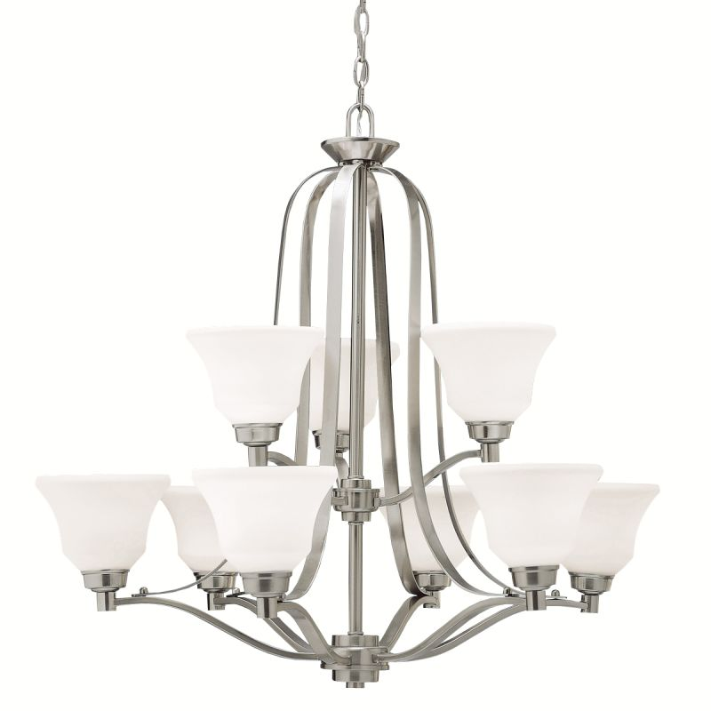 "Kichler 1784 Langford 2-Tier Chandelier with 5 Lights - 72"" Chain"
