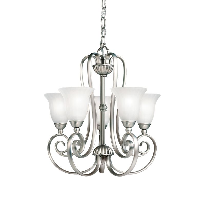 Kichler 1825 Willowmore Single-Tier Mini Chandelier with 5 Lights - Sale $250.00 ITEM: bci842549 ID#:1825NI UPC: 783927246125 :