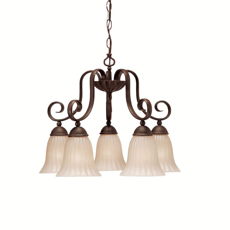 Kichler 1826 Willowmore Single-Tier Chandelier with 5 Lights - 72""