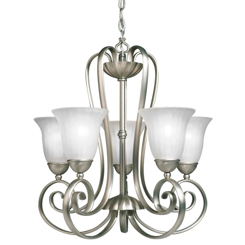 Kichler 1827 Willowmore Single-Tier Chandelier with 5 Lights - 72""