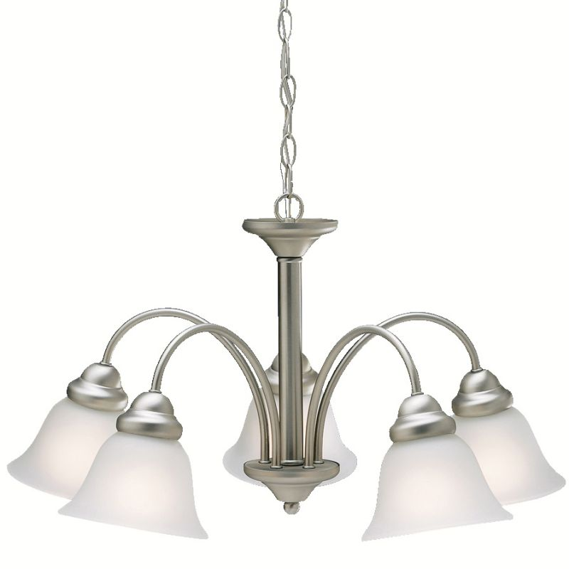 "Kichler 2093 Wynberg Single-Tier Chandelier with 5 Lights - 72"" Chain"