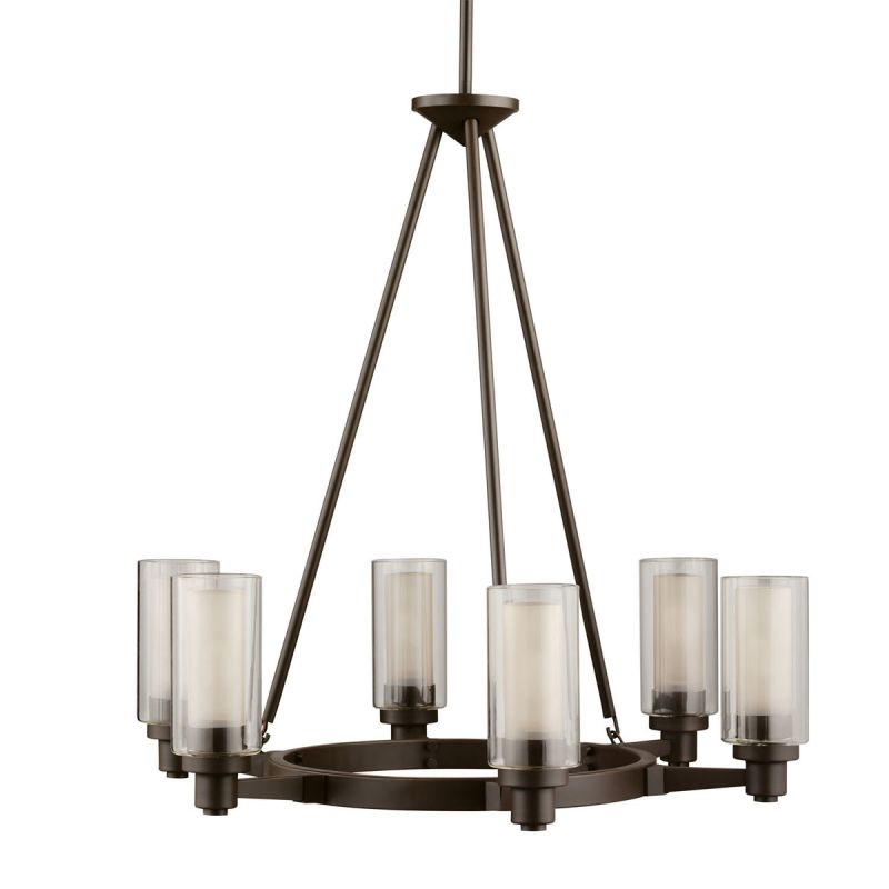 Kichler 2344OZ Olde Bronze Contemporary Circolo Chandelier