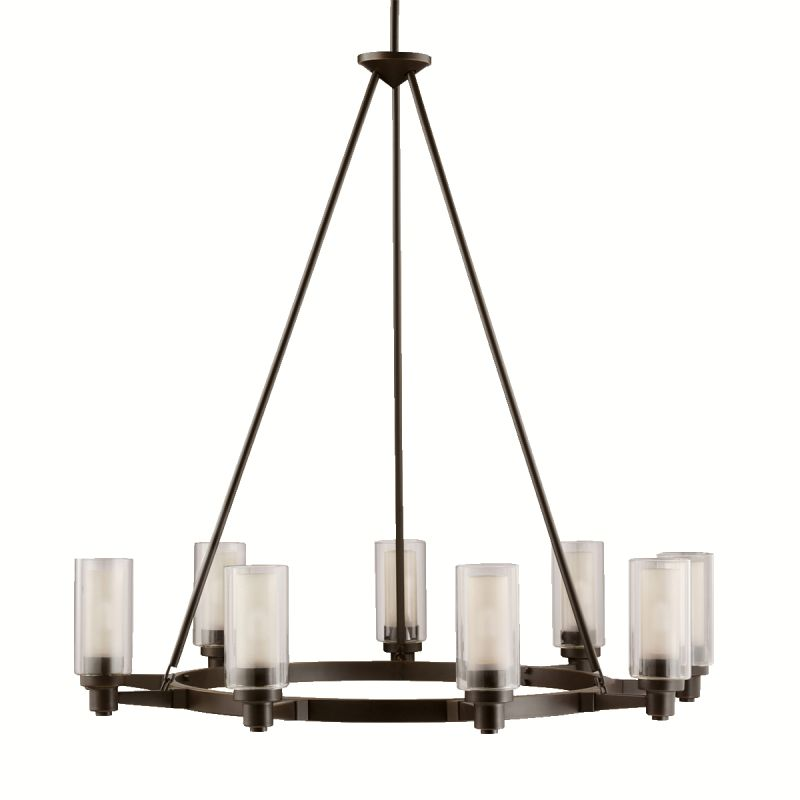Kichler 2346OZ Olde Bronze Contemporary Circolo Chandelier
