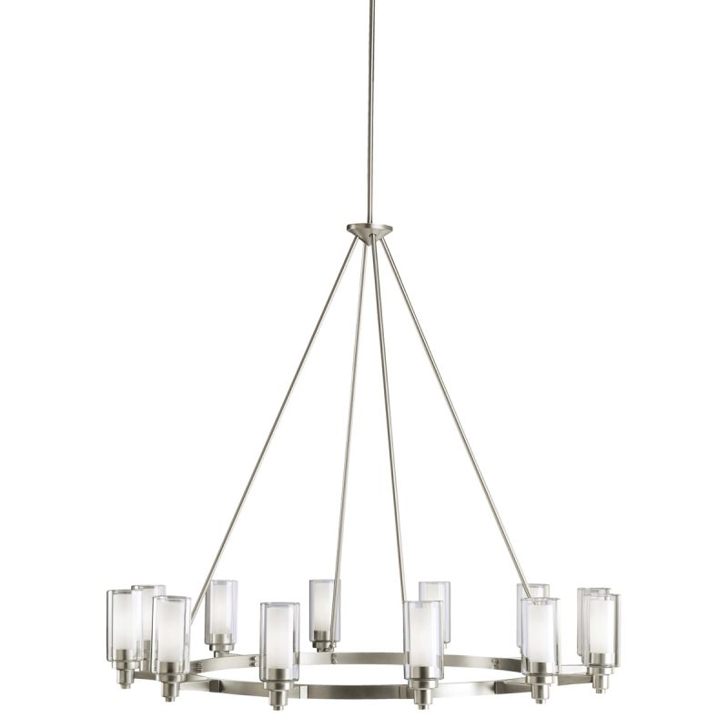 Kichler 2347NI Brushed Nickel Contemporary Circolo Chandelier Sale $1254.00 ITEM: bci842820 ID#:2347NI UPC: 783927248501 :