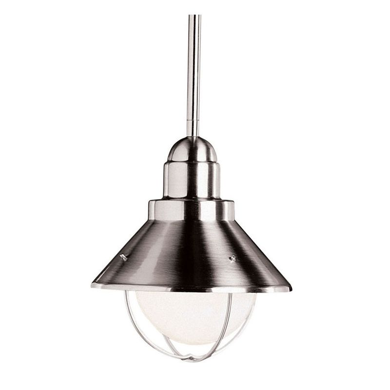 Kichler 2621 Seaside Single-Bulb Outdoor Pendant with Cone-Shaped