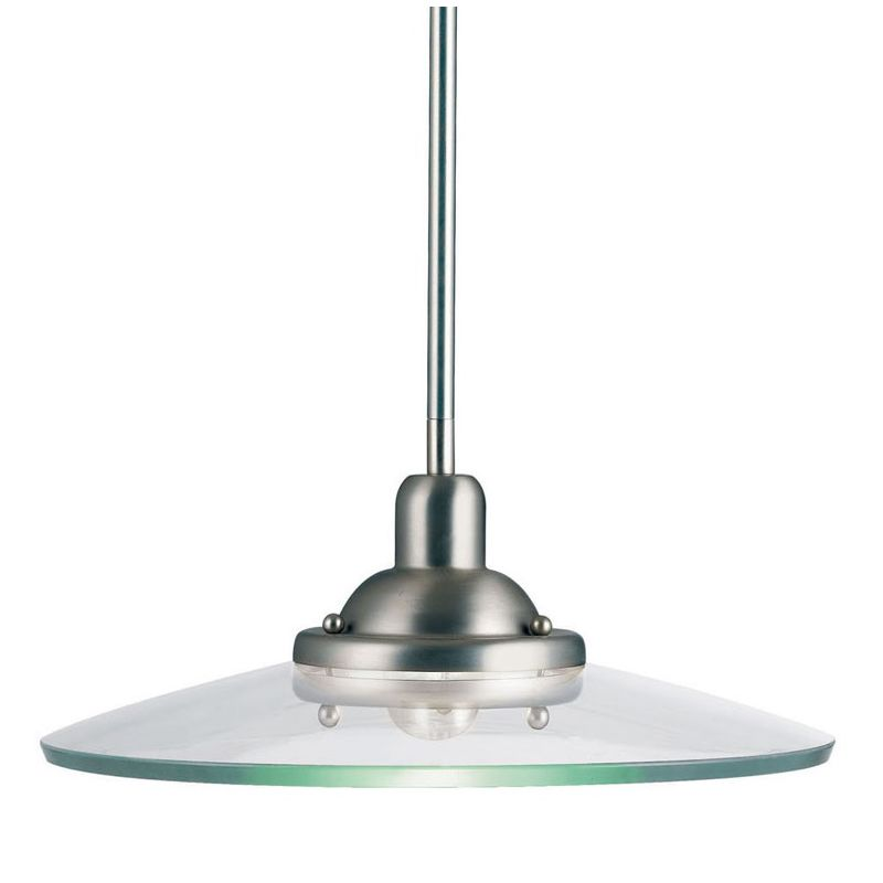 Kichler 2643 Galaxie Single-Bulb Indoor Pendant with Round Glass Shade