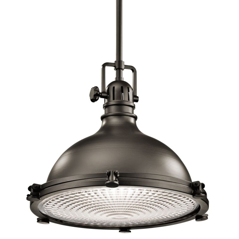 "Kichler 2682 Hatteras Bay Pendant Light with Metal Shade - 18"" Wide"