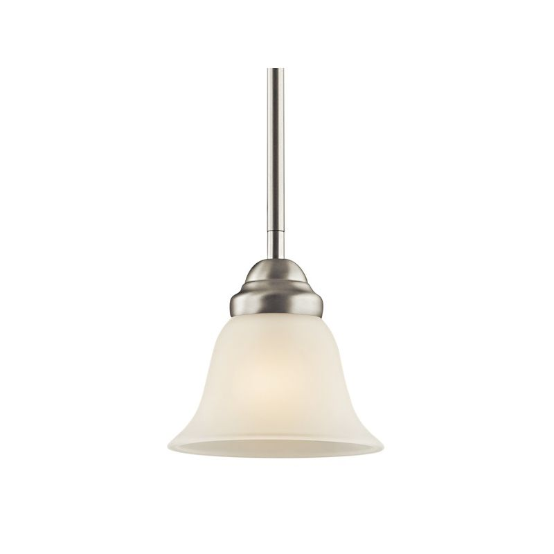 Kichler 2693 Wynberg Single-Bulb Indoor Pendant with Bell-Shaped Glass