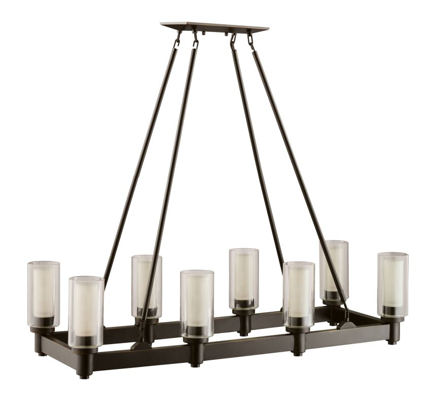 Kichler 2943OZ Olde Bronze Contemporary Circolo Chandelier