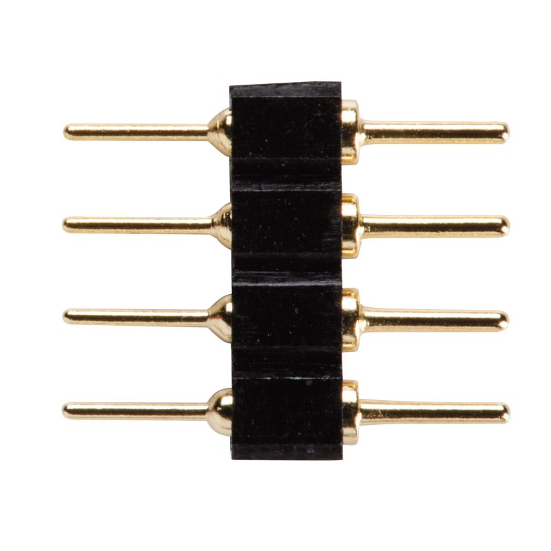Kichler 2C1 Inline Splice for Damp Rated Tape Lights - 5 Pack Black