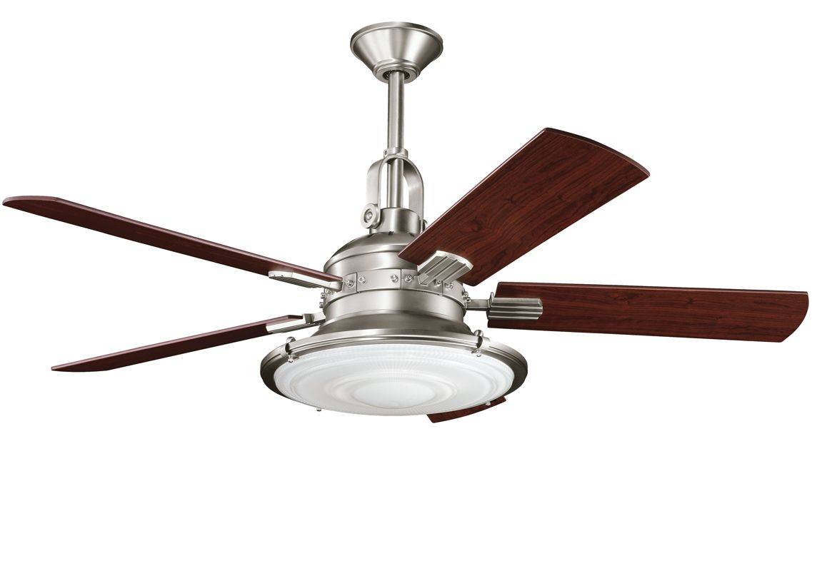 Kichler 300020ap antique pewter 52 indoor ceiling fan for Cool ceiling fans with lights
