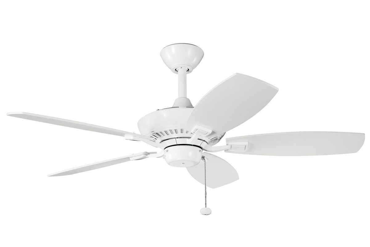"Kichler 300107 44"" Indoor Ceiling Fan with Blades Downrod and Pull"