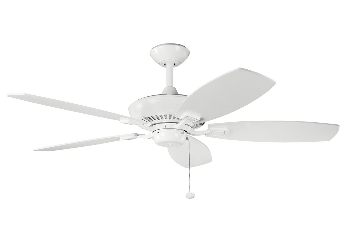 "Kichler 300117 52"" Indoor Ceiling Fan with Blades Downrod and Pull"
