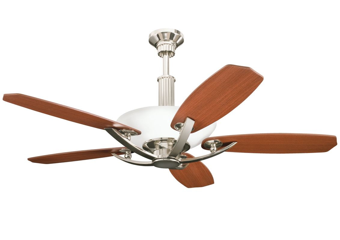 "Kichler Palla 56"" Indoor Ceiling Fan with Blades Downrod and Remote"
