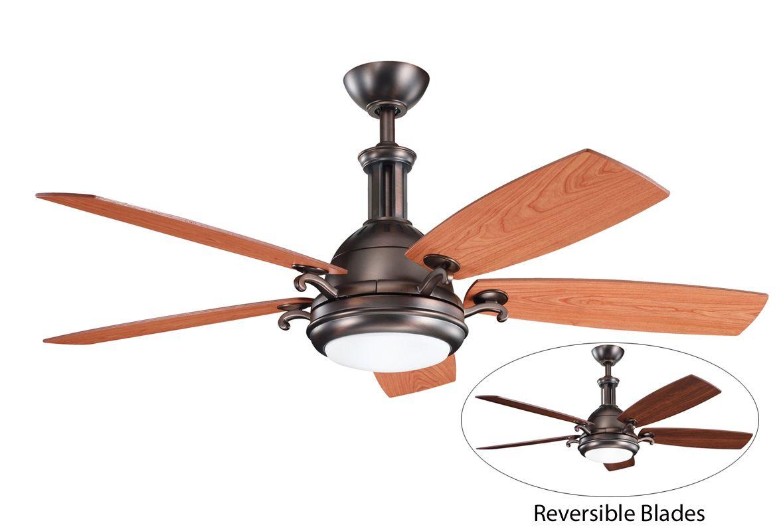 Kichler 300135obb Oil Brushed Bronze 52 Quot Indoor Ceiling
